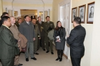 Visit of the foreign military diplomats
