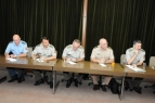 New Diplomatic Representatives of Ministry of Defence and Armed Forces of Serbia Admitted by Chief of General Staff General Lieutenant Miloje Miletic